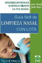 Limpieza nasal con lota
