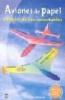 Aviones de papel: el libro de los recortables