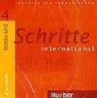 Schritte international 4 niveau a2/2 (cd 1+2 kursbuch)